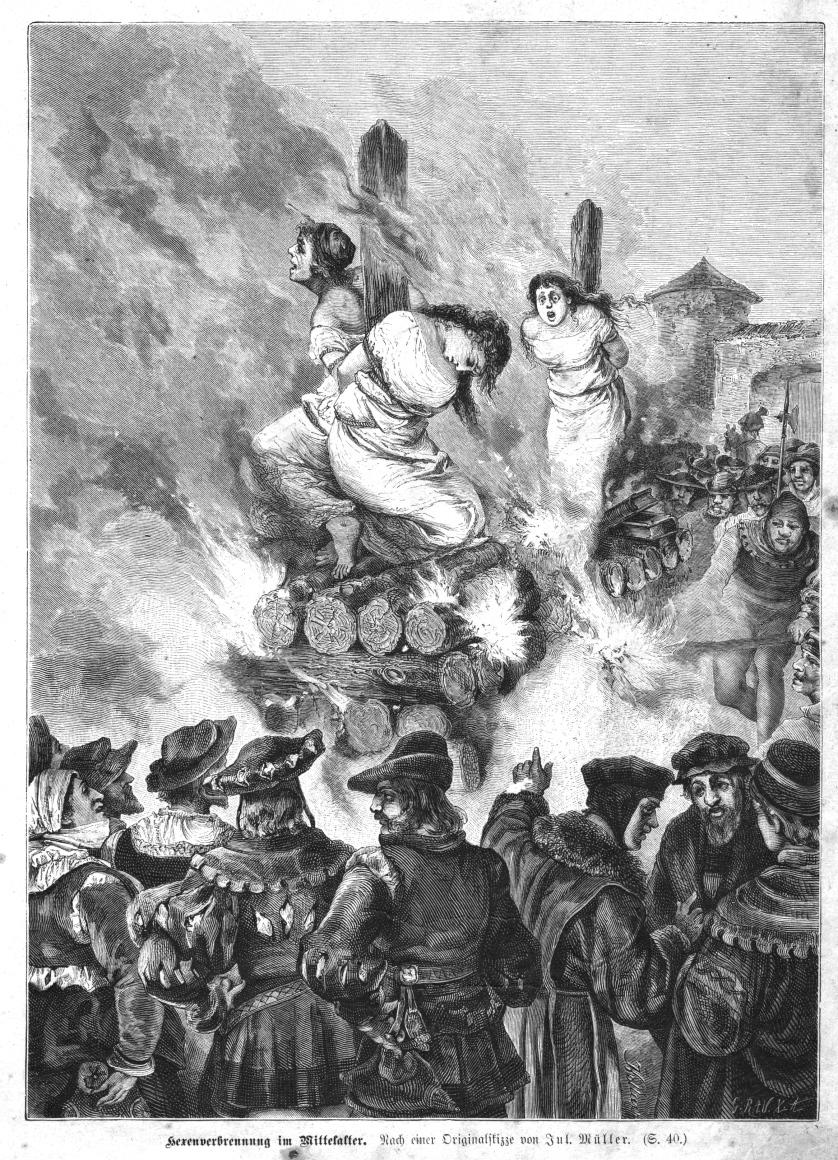 Hexenverbrennung Mittelalter